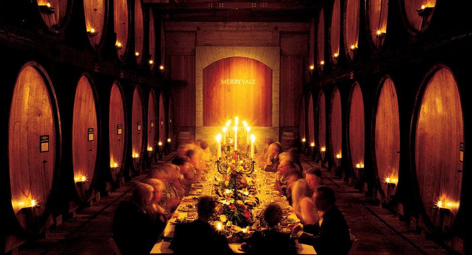 Merryvale  Cask Room