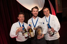BC Chefs Chef Darren Brown Brian Skinner (Gold). Terry Pichor
