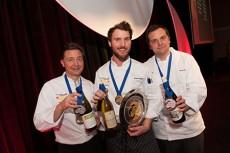 BC Chefs Chef Darren Brown Brian Skinner (Gold). Terry Pichor