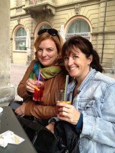 Kimberly and Ziggy in Alba
