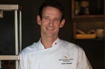 Chef Chris Stewart .   Mission Hill Estate