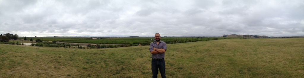 On Roys Hill Overlooking Gimblett Gravels with Greg Allinson (Pask)